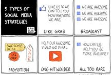 Social Media Cartoons & Funnies / by Kimberly Legocki