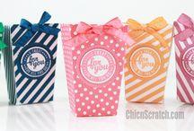 Popcorn Box / Popcorn-Schachtel