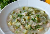 Овощные супы.