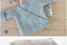 Baby kötött ruhák