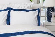 monaco Blue Bed Linen