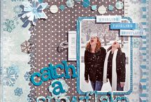 Winter scrapbooking