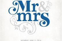 Bruiloft uitnodigingen