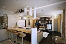 açık mutfak