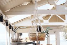 beachclub / Gorgeous impressions from Snoeps macrame hangers in Dutch beachclubs.