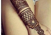 Diseños de mehndi