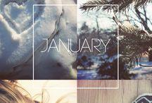 ♥ január ♥