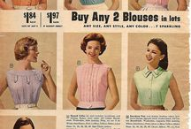 Blouse History! / Fashion means....