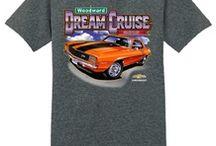 Woodward dream cruise t-shirts 2016