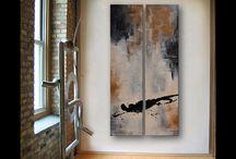 Jennifer Burns Abstract Art / Some of my art pieces