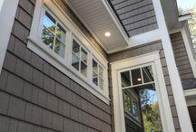 Exterior window trims