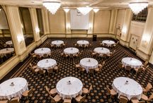 Elegant Meeting, Conference, and Special Event Rooms / Planning your next business conference? How about your wedding day? We've got special meeting rooms that are perfect for groups, and our ballrooms provide the utmost romantic atmosphere for your wedding day. We also provide your catering!