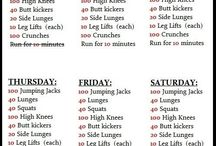 Quick Hard Fitness Routines