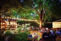 Outdoor Wedding Lighting / by Love & Lavender | Wedding Blog