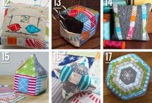 FPP #Sewing with #Fat #Quarters / I have lots of material to use up so collecting sewing ideas!