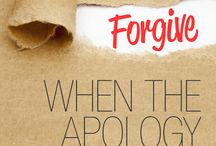 How To Forgive / Forgiving others as well as ourselves is the only way we can experience true joy.