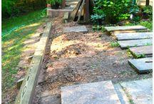Jardin escaleras