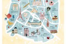 rajzolt térképek