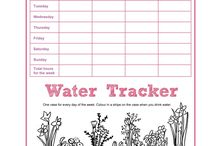 Making Springtime easier and fun / #Springcleaning ideas, track your water intake, sleep better.