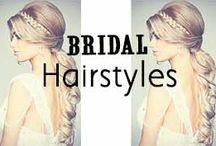 Bridal Hairstyles / Romantic Bridal Hairstyles: http://www.missesdressy.com/blog/romantic-bridal-hairstyles.html