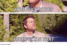 Misha/Castiel / Various pictures of Misha and his character Castiel