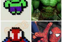 Hama Beads Super Heros / Pyssel