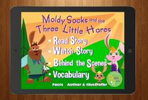 Remixed Fairy Tales Moldy Socks and the Three Little app / Remake of Goldilocks and the Three Bears