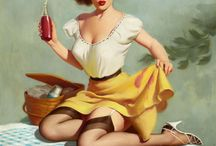Pin-up Obsession / by Vonda Fuller