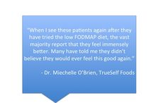 TrueSelf Foods For Thought / Key thoughts and insights for successfully living a FODMAP friendly lifestyle.