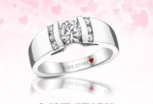 In Love with Love Story Diamonds