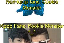 BTS Kookie Monster / Jungkook x rap monster