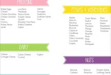 Lunch box ideas and healthy snacks