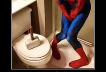 super heroes humor