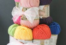 Great Gift Ideas for Knitters and Crocheters / Whether they are beginners of seasoned knitters or crocheters they can never get enough yarn and other accessories. I've tried to find some fun and some useful gifts yarn crafters will love.