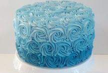 Blue boy cake