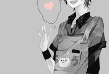 Anime Boys Smile