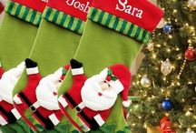 Personalised Stockings / Personalised Christmas Stockings at AmysGifts.co.uk for the whole family to decorate your home at Christmas and fill with xmas presents and little gifts from Santa. Personalised Christmas Stockings are extra special with an embroidered personalised name and a xmas decoration to hang up. A Christmas Stocking is a festive alternative to xmas wrapping paper for Christmas gifts to friends and family and gifts from Santa Claus.  Shop for personalised stockings at www.amysgifts.co.uk