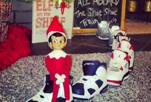 Elf on the Shelf 2012 / 2012 Elf on the Shelf. Benji the Elf. Started Dec 7th  / by Jamie Kaye