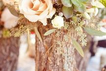 Wedding - pretty woodland theme