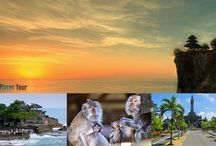 Bali Tour in Half Day / The selections of tour in Bali for half day to go to the interesting places to visit in Bali island Indonesia