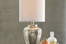 Desk lamp / by Elizabeth Hubbell