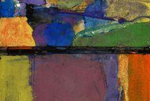 Saul Leiter paintings