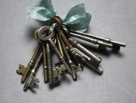 Keys / In THE BLACK VELVET COAT Anne finds a key in her pocket. What do you think it looked like?
