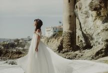 Custom Wedding Dress & Rings