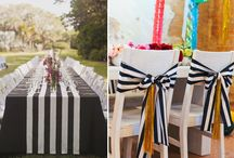 Stripe wedding decor ideas