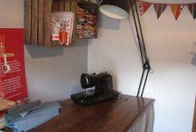 Upcycled Terraced House / http://littlemillhouse.co.uk/