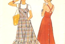Vintage Sewing / Inspiration for getting back behind the machine