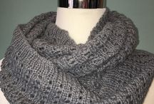 Scallop Detail Infinity Scarf $12.50