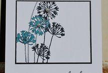 Card ideas - Flowers/Leaves