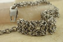 Jewellery With Chainmaille Ideas / Chainmaille  / by Lesley St Clair